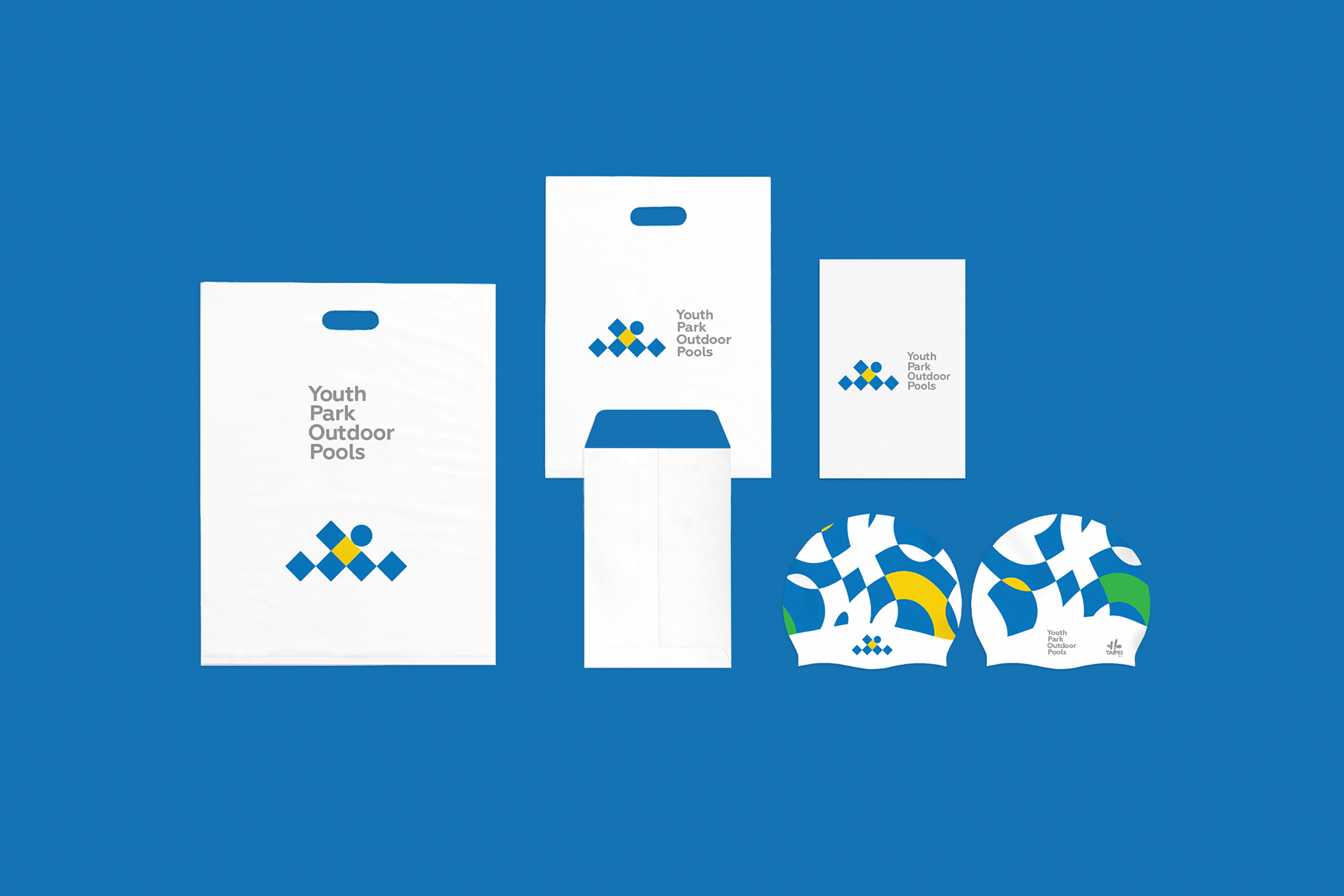 Youth Park Outdoor Pools Identity For A Public Pool